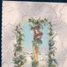 Postales: POSTAL NAVIDAD - AÑO NUEVO - CAMPANA JC. Lote 180227243