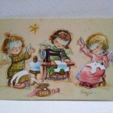 Postales: FELICITACIÓN NAVIDAD FERRÁNDIZ ANGELITOS SASTRE SUBI. Lote 180466617
