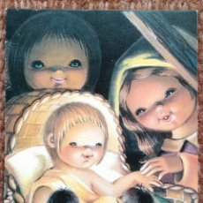Postales: TARJETA DE NAVIDAD - ILUSTRACION ISABEL BURGOS - 1977. Lote 181000232