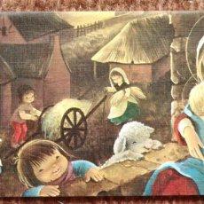 Postales: TARJETA DE NAVIDAD - ILUSTRACION CONSTANZA - 1977. Lote 181004006