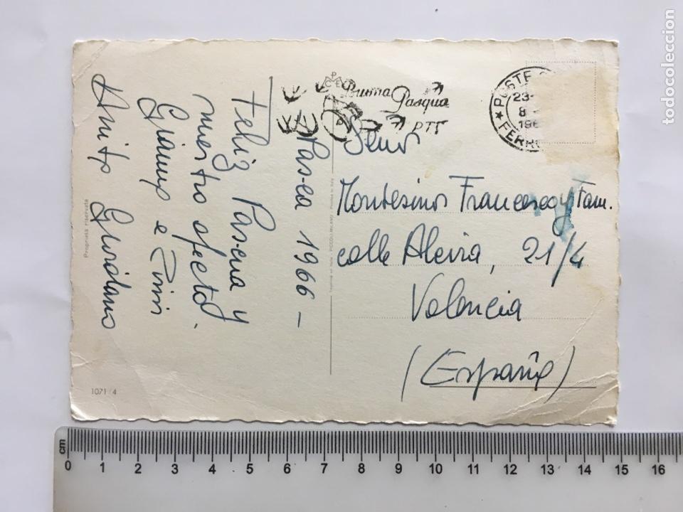 Postales: FELICITACIÓN NAVIDAD. POSTAL. ILUSTRACIÓN?. PRINTED IN ITALY. H. 1965?. - Foto 2 - 181196365