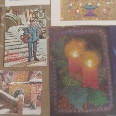 Postales: GRAN LOTE DE POSTALES Y FELICITACIONES NAVIDAD NAVIDEÑAS. Lote 182287012