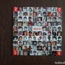 Postales: POSTAL DE FELICITACIÓN DE NAVIDAD DE PUBLICIDAD, NINTENDO AÑO 2006. Lote 182305073