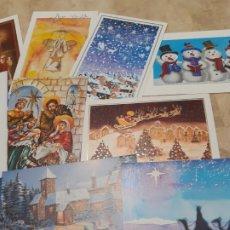 Postales: 12 FELICITACIONES DE NAVIDAD DE ARTISMUTI. Lote 182575816