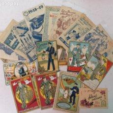 Postales: 30 FELICITACIONES DE NAVIDAD EL CARTERO . Lote 182995481