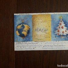 Postales: POSTAL DE FELICITACIÓN DE NAVIDAD DE PUBLICIDAD, MAGNA MENAJE AÑO 2007. Lote 183030126