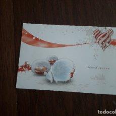 Postales: POSTAL DE FELICES FIESTAS DE COCA COLA EN COLABORACIÓN CON LA CRUZ ROJA.. Lote 183031940