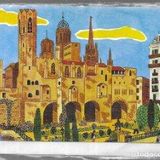 Postales: FELICITACION NAVIDAD * BARCELONA ? *CON SOBRE Y FUNDA. EDICROMO 1978 . Lote 183178125