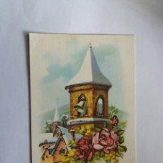 Postales: TARJETA POSTAL - 1960 FELIZ NAVIDAD - IGLESIA. Lote 183261928