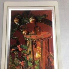 Postales: PRECIOSA POSTAL NAVIDEÑA - PARECE DE TELA - 11.3X18 - SIN CIRCULAR. Lote 183299852
