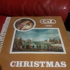 Postales: CATALOGÓS MUESTRARIOS CYZ CHRISTMAS TOMO 1 Y 2 SIN USO .SE RETIRA PROTECTOR PARA FOTOS .1984. Lote 183303116