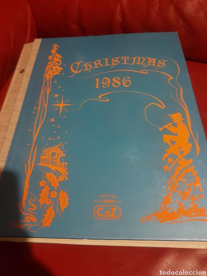 CATALOGÓ MUESTRARIO CYZ CHRISTMAS 1986 (Postales - Postales Temáticas - Navidad)