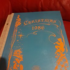 Postales: CATALOGÓ MUESTRARIO CYZ CHRISTMAS 1986. Lote 183304161