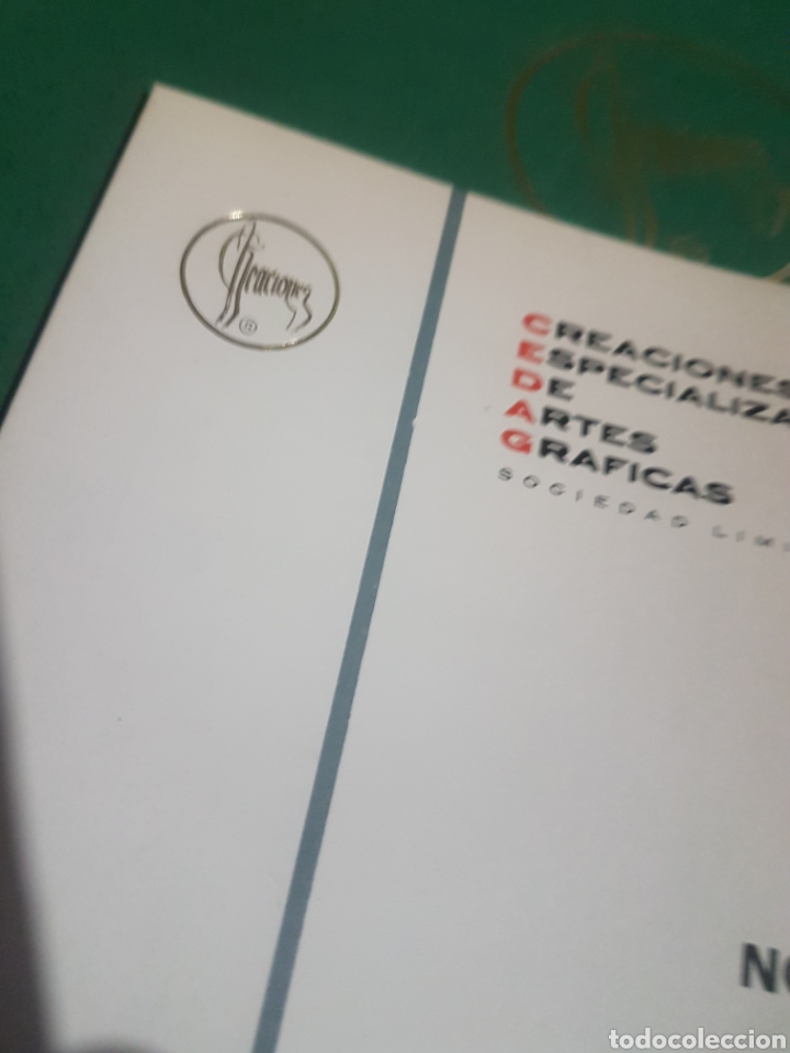 Postales: Catálogo muestrario. Creaciones 1973 navidad - Foto 2 - 183305387