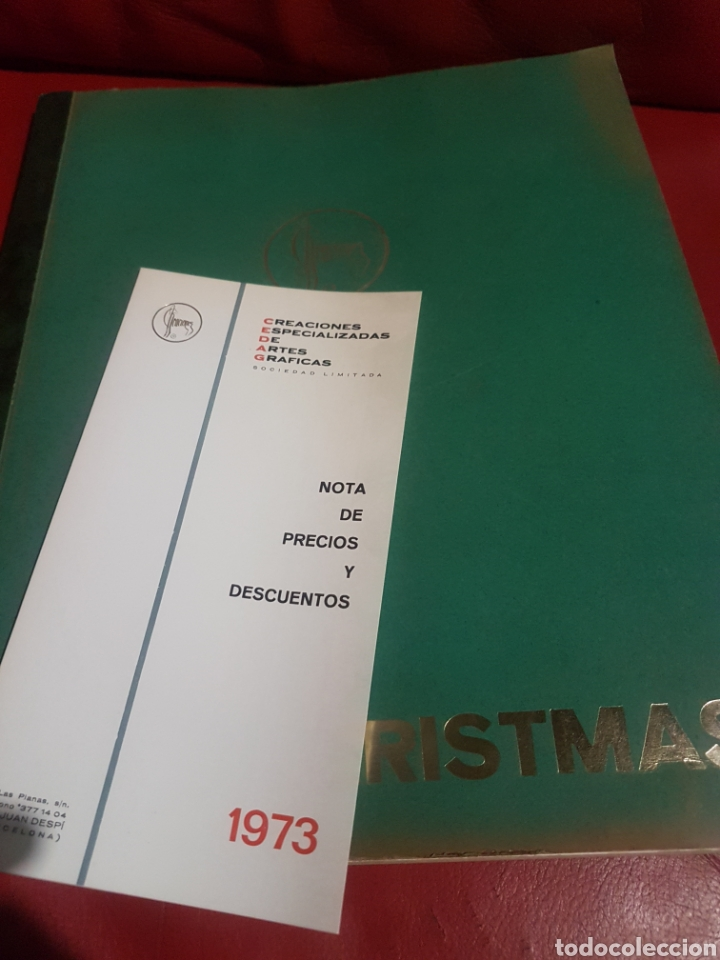 CATÁLOGO MUESTRARIO. CREACIONES 1973 NAVIDAD (Postales - Postales Temáticas - Navidad)