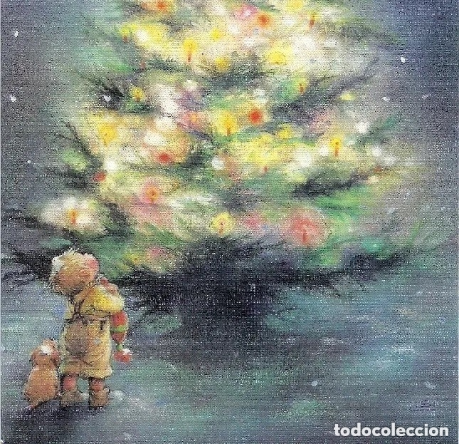 0822Ñ - LISI MARTIN - PICTURA GRAPHICA -DIPTICA 17X11,5 CM (Postales - Postales Temáticas - Navidad)