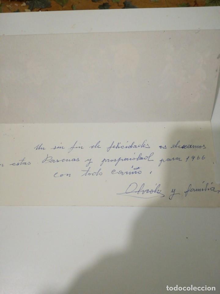 Postales: Postal navidad familia Telerín - Foto 3 - 183341041