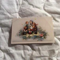 Postales: TARGETA CIRCULADA, DE FELIZ PASCUA.. Lote 183452642