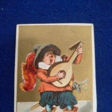 Postales: CROMO, POSTAL , FELICITACION LITOGRAFIADO.. Lote 183465507