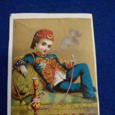 Postales: CROMO, POSTAL , FELICITACION LITOGRAFIADO.. Lote 183466311