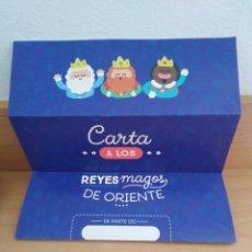Postales: NAVIDAD CARTA REYES MAGOS NOCILLA MR. WONDERFUL. Lote 183475468