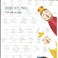 Postales: CARTA A LOS REYES MAGOS DE ORIENTE - REIS MAGS D' ORIENT. Lote 141758785