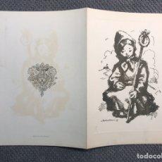 Postales: CASTELLÓN. FELICITACIÓN NAVIDEÑA. LA JUNTA CENTRAL DE FESTEJOS DE LA MAGDALENA.... (A.1951). Lote 183922486