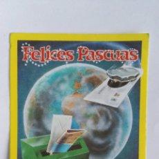 Postales: FELICES PASCUAS EL CARTERO. Lote 184303106