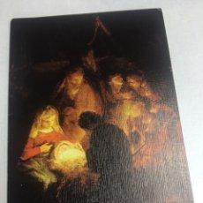 Postales: POSTAL DE NAVIDAD - DIPTICO CIRCULADA - 9.3X13.8CM. Lote 184336248