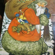 Postales: CURIOSO ANTIGUO CUENTO PARA PINTAR POSTALES POSTAL DE NAVIDAD PAPA NOEL SANTA CLAUS. Lote 184397292