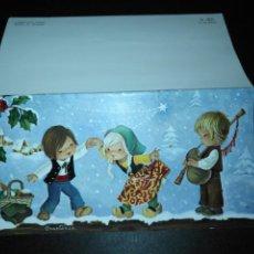 Postales: ESCUCHO OFERTAS - ANTIGUA FELICITACION NAVIDEÑA CHRISTMAS . CONSTANZA . ESCRITA . Lote 184881331