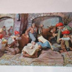 Postales: FELICITACION TARJETA POSTAL CYZ NAVIDEÑA CHRISTMAS PORTAL DE BELEN VIRGEN NIÑO JESUS SAN JOSE . Lote 185470361