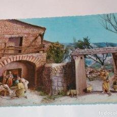 Postales: FELICITACION TARJETA POSTAL CYZ NAVIDEÑA CHRISTMAS PORTAL DE BELEN VIRGEN NIÑO JESUS SAN JOSE . Lote 185472916