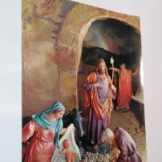 Postales: FELICITACION TARJETA POSTAL CYZ NAVIDEÑA CHRISTMAS PORTAL DE BELEN VIRGEN NIÑO JESUS SAN JOSE . Lote 185473395