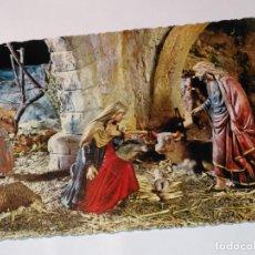 Postales: FELICITACION TARJETA POSTAL CYZ NAVIDEÑA CHRISTMAS PORTAL DE BELEN VIRGEN NIÑO JESUS SAN JOSE . Lote 185473868