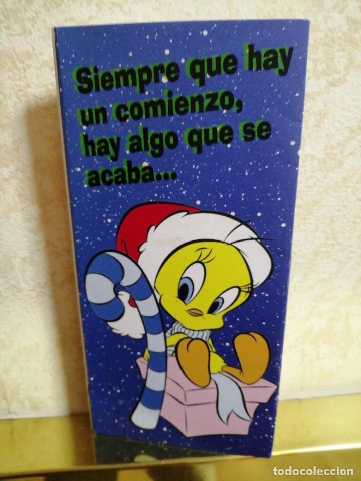 Postales: POSTAL DE NAVIDAD DE UN METRO WARNER BROS 1997 TODOS TUS PERSONAJES - Foto 5 - 185938397
