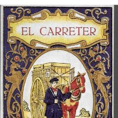 Postales: FELICITACION NAVIDAD * EL CARRETER * PERSPECTIVA EDITORIAL CULTURAL AURA - NO ES ANTIGUA*. Lote 186159592