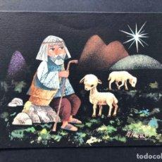 Postales: PEÑUELAS / TARJETA NAVIDAD / ESCRITA 1960 / 13,6 X 10,8 . Lote 186446112