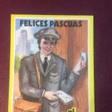 Postales: EL CARTERO LES DESEA FELICES PASCUAS.. Lote 187128131