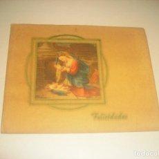 Postales: ANTIGUA POSTAL DE NAVIDAD , DOBLE. ESCRITA EN 1940.. Lote 187453948