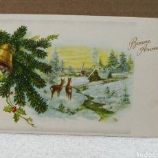 Postales: POSTAL FELICITACIÓN BÉLGICA. Lote 187459117