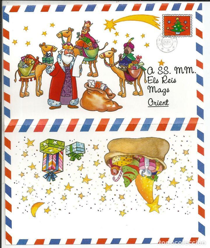 CARTA A ELS REIS MAGS ORIENT (CARTA REYES MAGOS ORIENTE) (Postales - Postales Temáticas - Navidad)