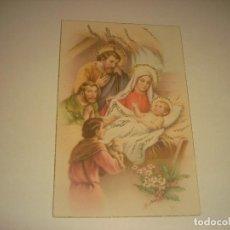 Postales: PRECIOSA POSTAL DE NAVIDAD CON PURPURINA. ED ANCLA 1630. ESCRITA 1952.. Lote 187912568