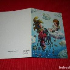 Postales: POSTAL NAVIDEÑA - ERROR COMPUTADORA - FERRANDIZ - A.1781-1 - DEPOSITO LEGAL B. 17038-XIII - ESCRITA. Lote 188751342