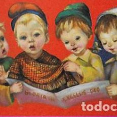Postales: TARJETA NAVIDAD FARRES * NIÑOS CANTANDO VILLANCICOS * AÑO 1963. Lote 295833868