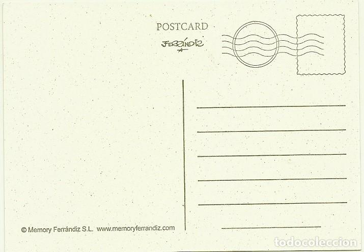 Postales: FERRÁNDIZ - ANGEL Y CIERVITO LLEVANDO LOS REGALITOS , 15X10,5 CM APROX - F30 - Foto 2 - 189884271