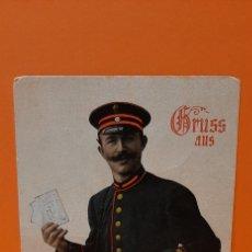 Postales: TARJETA POSTAL CARTERO BERLÍN 1911.. Lote 190331875