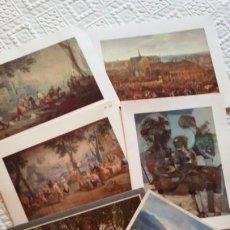Postales: LOTE 6 FELICITACIONES DEL BANCO EXTERIOR, NAVIDAD - AÑO NUEVO: 1984,1986,1987,1988,1989,1 SIN FECHA. Lote 190383670