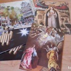 Postales: LOTE DE 5 FELICITACIONES DE NAVIDAD DEL BANCO HISPANOAMERICANO. AÑOS1980, 1983 (X2), 1984,1985. Lote 190384271