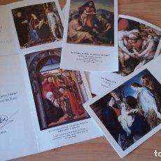 Postales: LOTE 5 FELICITACIONES DE NAVIDAD DEL CORTE INGLÉS, AÑOS1987,1089,1991,1995,1996,. Lote 190385271